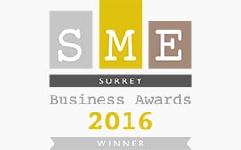 SME Surrey Business Awards Winner