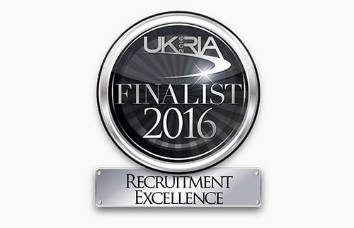 Recruitment Excellence finalists in the 2016 UK Rail Industry Awards